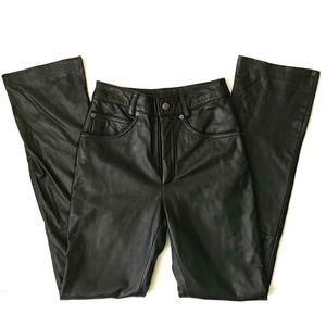 Maxima high waisted Leather pants size 2